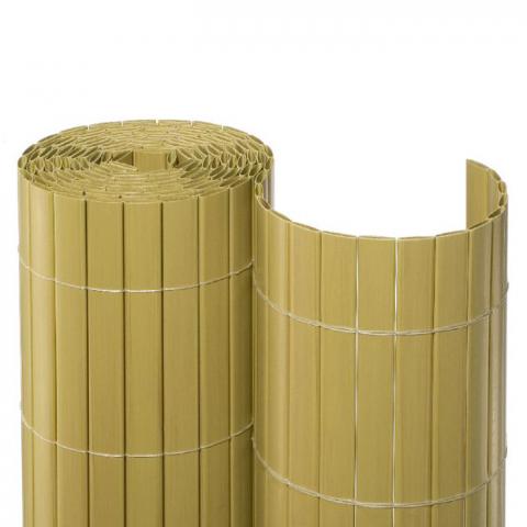 Noor Sichtschutzmatte PVC bambus 2x10m maxi 11,00 EUR/qm; 4013198552004