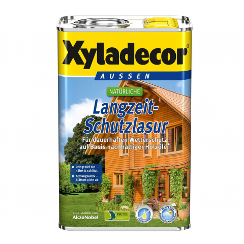 Akzo Nobel Xyladecor Natur-Langzeit-Schutzlasur 750ml Farbton: farblos 12,09 EUR/L; 4007591720665