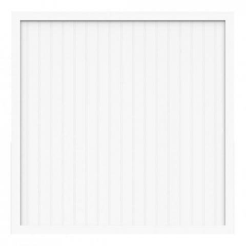 Groja BasicLine Zaun Typ A weiß 180x180 4250260934331