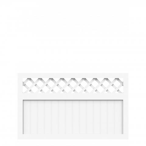 Groja BasicLine Zaun Typ K weiß 150x90 4250260900718