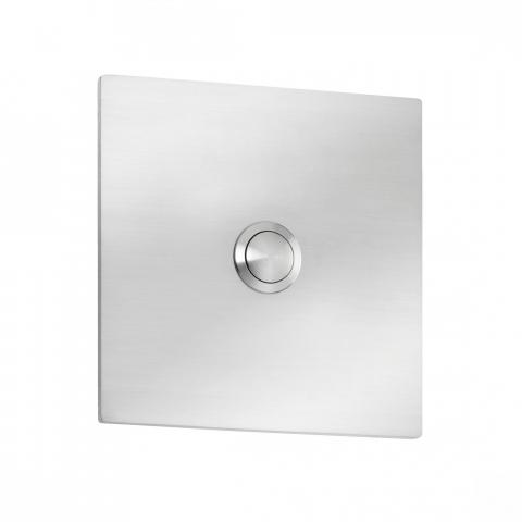 CMD Klingelplatte Quadrat Grande Typ 104 Edelstahl 4260045645208