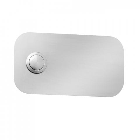 CMD Klingelplatte Rechteck Typ 103 Edelstahl 4260045640616