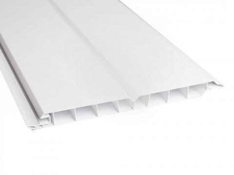 GroJa Fassadenverkleidung GJ200 weiß 3,16 EUR/lfm;