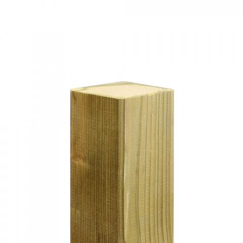 Mesem Zaunpfosten 9x9x180 Kiefer druckimprägniert 6,66 EUR/lfm;