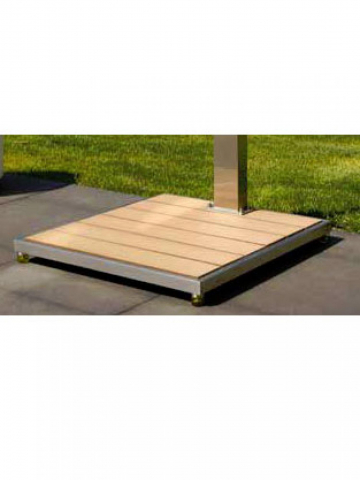 Ideal Eichenwald Ideal Bodenplatte 706603 für Solardusche Saba, Kuba, Tobago, Trinidad 4039474007808
