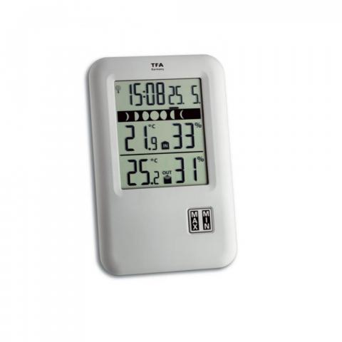 Florino Funk Thermo-Hygrometer, klein