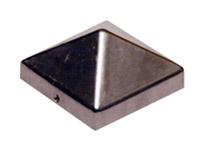 Gustav Alberts Pfostenkappe Pyramidenform Aluminium 70x70mm