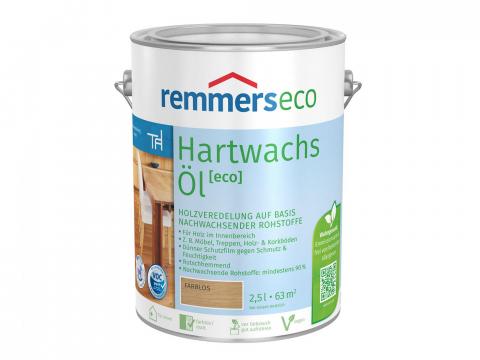 Aidol Hartwachs-Öl eco 2,5l Farbton Remmers Hartwachs-Öl eco: teak 32,75 EUR/L; 4004707225007