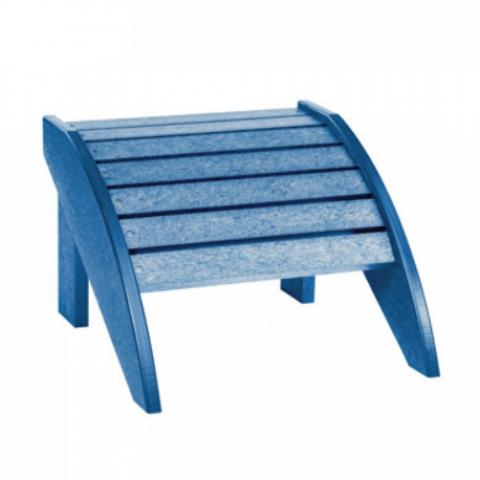 PPS Schimmel Stühle Muskoka Adirondack Fußbank F01 für C01, Blue 8075810084078