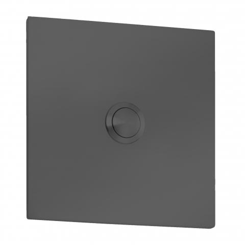 CMD Klingelplatte Quadrat Typ 100 anthrazit 4260045646335