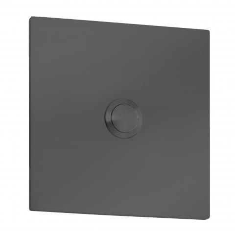 CMD Klingelplatte Quadrat Grande Typ 104 anthrazit 4260045646359