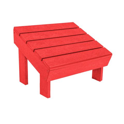 PPS Schimmel Stühle Muskoka Adirondack Fußbank F06 für C06 u. C09, Red
