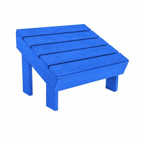 PPS Schimmel Stühle Muskoka Adirondack Fußbank F06 für C06 u. C09, Blue
