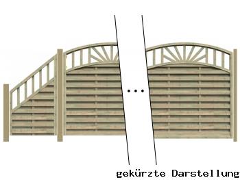 Delta Zaun 4,89m Zaun Freiburg - ME27542