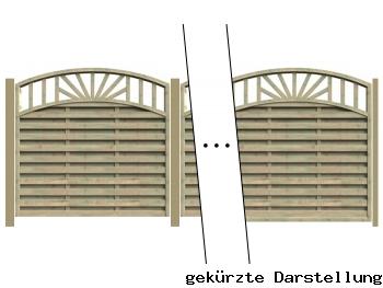 Delta Zaun 7,69m Zaun Freiburg - ME27543