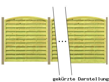 Traumgarten 5,16m Zaun Gada XL - ME29089