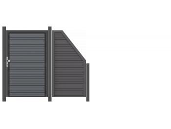 Traumgarten 2,47m Design Rhombus mit Tor - ME51456